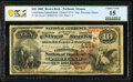 Portland, OR - $10 1882 Brown Back Fr. 484 The United States National Bank Ch. # (P)4514 PCGS Banknote