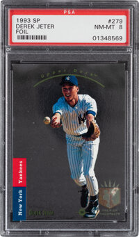 1993 SP Derek Jeter #279 PSA NM-MT 8