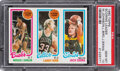 Basketball Cards:Singles (1980-Now), 1980 Topps Marques Johnson SL/Larry Bird SL/Jack Sikma PSA Gem Mint 10. ...