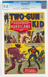 Two-Gun Kid #70 (Marvel, 1964) CGC VF/NM 9.0 Off-white to white pages