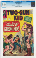 Silver Age (1956-1969):Western, Two-Gun Kid #72 UK Edition (Marvel, 1964) CGC VF/NM 9.0 Off-white pages....