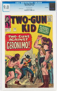 Two-Gun Kid #72 UK Edition (Marvel, 1964) CGC VF/NM 9.0 Off-white pages