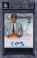 Basketball Cards:Singles (1980-Now), 2013 Panini Titanium Giannis Antetokounmpo (Draft Day Autographs) #17 BGS NM-MT+ 8.5, Auto 10. ...