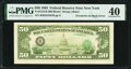 Error Notes:Third Printing on Reverse, Overprint on Back Error Fr. 2122-B $50 1985 Federal Reserve Note. PMG Extremely Fine 40.. ...