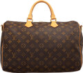 """Luxury Accessories:Bags, Louis Vuitton Monogram Coated Canvas Speedy 35 Bag. Condition: 4. 14"""" Width x 9.5"""" Height x 7.5"""" Depth. ..."""
