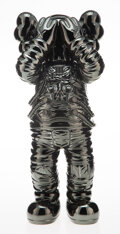 Collectible, KAWS (b. 1974). Holiday: Space (Black), 2020. Painted cast vinyl. 11-3/4 x 4 x 4-1/2 inches (29.8 x 10.2 x 11.4 cm). Sta...