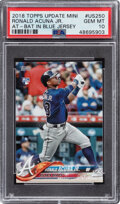Baseball Cards:Singles (1970-Now), 2018 Topps Update Mini Ronald Acuna Jr. #US250 PSA Gem Mint 10. ...