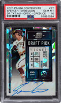 Baseball Cards:Singles (1970-Now), 2020 Panini Contenders Optic Draft Pick Ticket Autograph (Cracked Ice) Spencer Torkelson #DPTO-ST PSA Gem Mint 10 - Serial Nu...