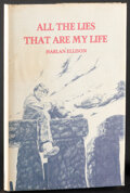 Movie Posters:Miscellaneous, All the Lies That are My Life by Harlan Ellison & Other Lot (Kilimanjaro Corporation, 1980). Overall: Very Fine. Signed Book... (Total: 2 Items)