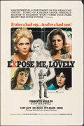 """Movie Posters:Adult, Expose Me, Lovely (Mature Pictures, 1976). Folded, Fine. One Sheet (27"""" X 41""""). Adult.. ..."""