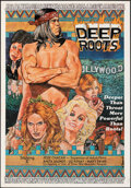 """Movie Posters:Adult, Deep Roots (""""B"""" Productions, 1978). Folded, Very Fine-. One Sheet (25"""" X 36""""). Adult.. ..."""