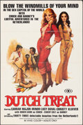 """Movie Posters:Adult, Dutch Treat (ASOM Distributing, 1977). Folded, Very Fine. One Sheet (27"""" X 41""""). Adult.. ..."""