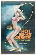"""Movie Posters:Adult, Hot Teenage Assets & Other Lot (Canard Films, 1978). Folded, Overall: Fine+. One Sheet (25"""" X 38"""" & 27"""" X 41"""") Nancy Villagr... (Total: 2 Items)"""