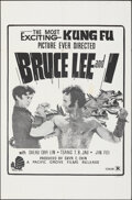 """Movie Posters:Action, Bruce Lee and I & Other Lot (Shaw Brothers, 1973). Folded, Very Fine-. One Sheets (2) (27"""" X 41""""). Action.. ... (Total: 2 Items)"""