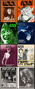 """Movie Posters:Horror, Photon (Mark Frank, 1963 - 1977). Overall: Fine/Very Fine. Fan Magazines (20) (Multiple Pages, 8.5"""" X 11""""). Horror.. ... (Total: 20 Items)"""