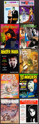 Monster Mania Magazine & Other Lot (Renaissance Productions, 1966/1967). Overall: Fine/Very Fine. Magazines (18) (Mu...