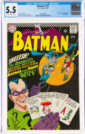 Silver Age (1956-1969):Superhero, Batman #179 (DC, 1966) CGC FN- 5.5 Off-white to white pages....