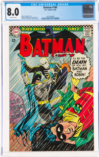 Batman #180 (DC, 1966) CGC VF 8.0 Off-white pages