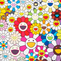 Takashi Murakami (b. 1962) Flowers Blooming in This World and the Land of Nirvana, 2013 Offset litho