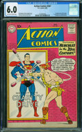 Silver Age (1956-1969):Superhero, Action Comics #267 (DC, 1960) CGC FN 6.0 Off-white to white pages.
