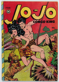 Jo-Jo Comics #24 (Fox Features Syndicate, 1949) Condition: VG-