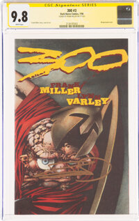 300 #3 Signature Series: Frank Miller (Dark Horse, 1998) CGC NM/MT 9.8 White pages