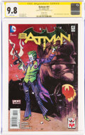 Modern Age (1980-Present):Superhero, Batman #41 Variant Cover - Signature Series: Scott Snyder (DC, 2015) CGC NM/MT 9.8 White pages....