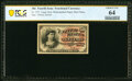 Fractional Currency:Fourth Issue, Fr. 1257 10¢ Fourth Issue PCGS Banknote Choice Unc 64.. ...
