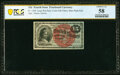 Fractional Currency:Fourth Issue, Fr. 1269 15¢ Fourth Issue PCGS Choice AU 58.. ...
