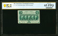 Fr. 1310 50¢ First Issue PCGS Banknote Gem Unc 65 PPQ