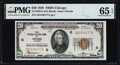 Fr. 1870-G $20 1929 Federal Reserve Bank Note. PMG Gem Uncirculated 65 EPQ