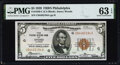 Fr. 1850-C $5 1929 Federal Reserve Bank Note. PMG Choice Uncirculated 63 EPQ