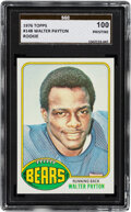 Football Cards:Singles (1970-Now), 1976 Topps Walter Payton Rookie #148 SGC Gold Label Pristine 100....