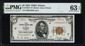 Fr. 1850-F $5 1929 Federal Reserve Bank Note. PMG Choice Uncirculated 63 EPQ