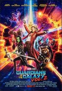 """Guardians of the Galaxy Vol. 2 (Walt Disney Pictures, 2017). Rolled, Very Fine. One Sheet (27"""" X 40"""") DS Advan..."""