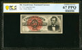 Fractional Currency:Fourth Issue, Fr. 1374 50¢ Fourth Issue Lincoln PCGS Superb Gem Unc 67 PPQ.. ...