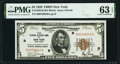 Small Size:Federal Reserve Bank Notes, Fr. 1850-B $5 1929 Federal Reserve Bank Note. PMG Choice Uncirculated 63 EPQ.. ...
