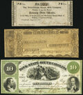 Indiana, Massachusetts, and South Carolina Obsoletes. Lawrenceburgh, IN- Petersburgh Steam Mill Company 75¢ Aug. 28...
