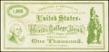 Obsoletes By State:California, San Francisco, CA- Heald's College Bank $1,000 ND Schingoethe CA-305-1000 Very Fine.. ...