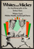 Autographs:Others, Mickey Mantle & Whitey Ford Dual-Signed Book. ...