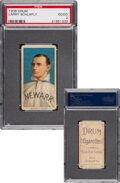 Baseball Cards:Singles (Pre-1930), 1909-11 T206 Drum Larry Schlafly PSA Good 2 - The Only PSA-Graded Example! ...