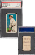 Baseball Cards:Singles (Pre-1930), 1909-11 T206 Drum Hooks Wiltse (Pitching) PSA Good 2 - Only Four PSA-Graded Examples! ...