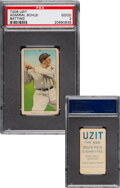 Baseball Cards:Singles (Pre-1930), 1909-11 T206 Uzit Admiral Schlei (Batting) PSA Good 2 - Only Six PSA-Graded Examples. ...