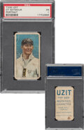 Baseball Cards:Singles (Pre-1930), 1909-11 T206 Uzit Cy Seymour (Portrait) PSA Poor 1 - Only Six Confirmed PSA-Graded Examples. ...