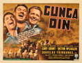 """Movie Posters:Action, Gunga Din (RKO, 1939). Fine/Very Fine on Paper. Half Sheet (22"""" X 28"""") Style A.. ..."""