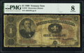 Large Size:Treasury Notes, Fr. 347 $1 1890 Treasury Note PMG Very Good 8.. ...