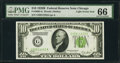 Small Size:Federal Reserve Notes, Fr. 2002-G $10 1928B Light Green Seal Federal Reserve Note. PMG Gem Uncirculated 66.. ...