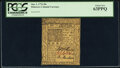 Colonial Notes:Delaware, Delaware January 1, 1776 20s PCGS Choice New 63PPQ.. ...