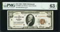 Fr. 1860-E $10 1929 Federal Reserve Bank Note. PMG Choice Uncirculated 63 EPQ