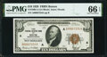 Small Size:Federal Reserve Bank Notes, Fr. 1860-A $10 1929 Federal Reserve Bank Note. PMG Gem Uncirculated 66 EPQ.. ...